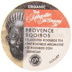 Organic Provence Rooibos Tea K-Cups - 24 count -- Click image for more details. (This is an affiliate link) #TeaSamplers