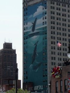 Detroit has its own Wyland mural