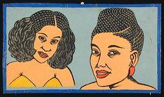 Indigo Arts Gallery | African Barber Signs | Togo