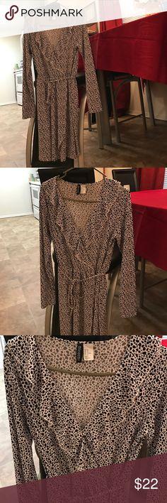 Brand NEW Forever21 Ruffle Dress! Size 12 Forever 21 Dresses Long Sleeve