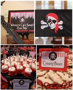 Pirate Birthday Party: