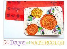 caterina e dintorni: 30 Days of watercolor / Fourteen