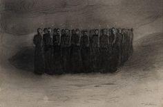 Alfred Kubin - Black+Mass - 1905
