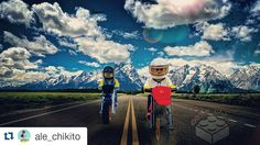#mfor #Repost @ale_chikito with @repostapp  So I was talking to my sigfig and he needs adventure so today I decided  to start... #hangoutwithale_chikito this series will be about my sigfig hanging out with your sigfig... so pm me an activity and show me how your sigfig looks and let's hangout. 100/366  So today @ale_chikito is dirt biking with @nathanp31 But you can tell ale_chikito wants none of it.... #lego #photooftheday #toyslagram_lego #legominifigures #toyart #legophotography…