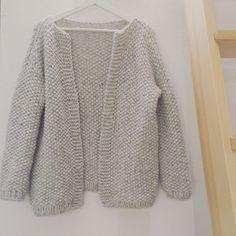 Gilet point de riz – Rachel says YEPA ! Knit Vest, Fall Fashion Outfits, Free Knitting, Knitwear, Knitting Patterns, Knit Crochet, Sewing, Clothes, Style