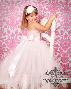 $28.88 (Buy here: https://alitems.com/g/1e8d114494ebda23ff8b16525dc3e8/?i=5&ulp=https%3A%2F%2Fwww.aliexpress.com%2Fitem%2Fbaby-bridesmaid-flower-girl-wedding-dress-tulle-fluffy-ball-gown-birthday-costume-cloth-solid-white-handmade%2F32582682340.html ) new 2016 baby bridesmaid flower girl wedding dress tulle fluffy ball gown birthday costume cloth solid white  tutu party dresses for just $28.88