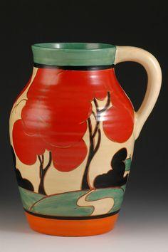 Andrew Muir | Clarice Cliff, Art Deco Pottery, Moorcroft and 20th Century Ceramics DealerRed Autumn isis c.1930