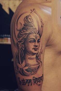Here you will find most beautiful and attractive Shiva tattoo designs and ideas for your Shiva tattoos, Lord shiva beautiful tattoos and designs for men and women. Tattoo Designs For Girls, Tattoo Designs Men, Design Tattoos, God Tattoos, Tattoos For Guys, Mahadev Tattoo, Trishul Tattoo Designs, Shiva Tattoo Design, Type Tattoo