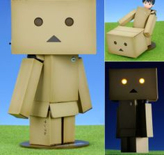 Revoltech Yotsuba&! Danbo Danboard Renewal Package Box Action Figure Kaiyodo JPN