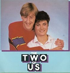 Nicholas Lyndhurst and Janet Dibley as Ashley and Elaine in The Two of Us 1980s Childhood, My Childhood Memories, 1980s Tv Shows, Tv Ads, Teenage Years, Old Tv, Classic Tv, My Memory, Growing Up
