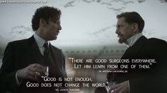 The Knick Quotes: Dr. John W. Thackery