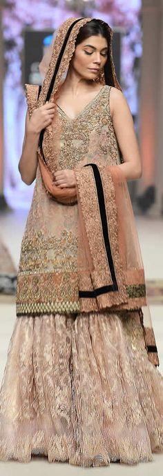 Ammar Shahid #TBCW 2014 Salvation Collection #BridalDresses #PakistaniDresses