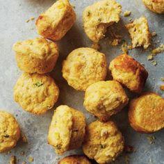 Chili Dinner Menu: Jalapeño-Cheddar Corn Muffins Recipe | CookingLight.com