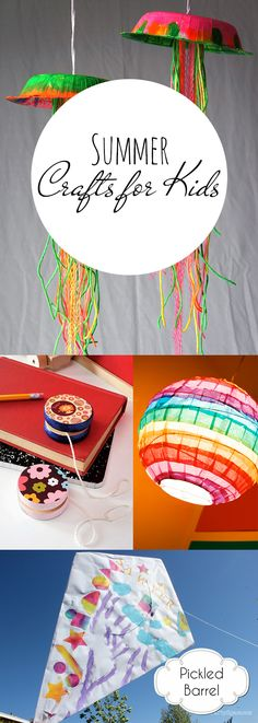 Summer Crafts for Kids| Crafts for Kids, Summer Crafts for Kids, Kids Stuff, Summer Activites, Crafts, Easy Crafts, Quick Craft Projects, Popular Pin