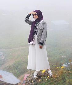 123 stunning hijab fashion style ideas – page 1 Islamic Fashion, Muslim Fashion, Modest Fashion, Abaya Fashion, Skirt Fashion, Fashion Outfits, Womens Fashion, Dubai Fashion, Abaya Style