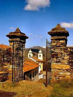 Ouro Preto, cidade histórica do estado de Minas Gerais - Brasil