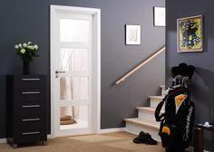 Laakaovi uritettu Jeld-Wen Easy Effect Kaisla valkoinen Tallit, Cottage Homes, Future House, Tall Cabinet Storage, Easy, Projects, Furniture, Bauhaus, Home Decor