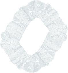 Renda em circulo, imagem em PNG.