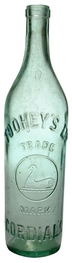 Toohey's Ltd Cordials (Sydney). Seated Deer trade mark. c1900s-1910s