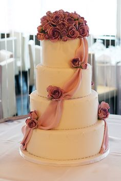 Wedding Cakes by Silk Cakes in NYC