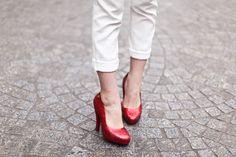 Les chaussures de Dorothée dans le magicien d'Oz ♡