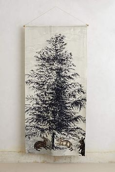 Northern Pine Wall Tapestry - anthropologie.com