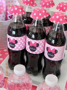 Minie Mouse Party, Minnie Mouse Theme Party, Minnie Cake, Minnie Mouse Baby Shower, Mickey Mouse Clubhouse Birthday, Mickey Y Minnie, Minnie Mouse Pink, Mickey Party, Mickey Mouse Birthday