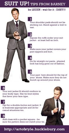 5 Tips When Suiting Up (Suit Up Like Barney) | Art of Style