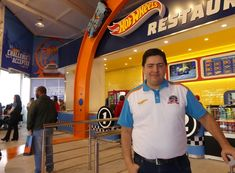 Roberto Vertemati no novo restaurante tematizado Hot Wheels, Beto Carrero World, Parks, Restaurant