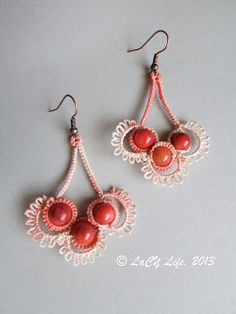 laCY life: Chandelier Earrings (Pattern link on page)