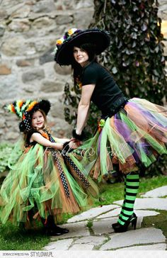 mother daughter witch costume