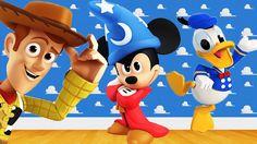 Nhạc Thiếu Nhi Tiếng Anh Vui Nhộn | Chàng cao bồi Woody, vịt Donald, côn...