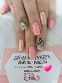 Swag Nails, Cute Nails, Hair And Nails, Nail Designs, Nail Polish, Sparkle, Nail Art, Pretty, Beauty