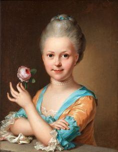 Atributed to Ulrica Fredrica Pasch 1735-1796. Sold at Bukowskis INternational auction 2013