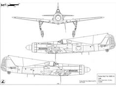 All producers - All categories - Focke Wulf to Detail Scale Aircraft Drawings - Karaya Military Couples, Military Love, Ta 152, Kit Planes, Focke Wulf 190, Aircraft Propeller, Technical Drawing, Military Aircraft, Line Drawing