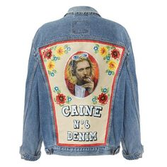 denim jacket painting - Поиск в Google