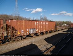 SOU 134657 Southern Railways, Rolling Stock, Santa Fe, Missouri, United States, Train, America, Cars, Usa