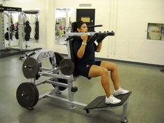 Assisted Squat Machine for Muscle Development