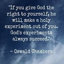 a holy experiment ~Oswald Chambers Faith Quotes, Bible Quotes, Bible Verses, Me Quotes, Scriptures, Heartbreak Quotes, Oswald Chambers, Tips & Tricks, Faith In God