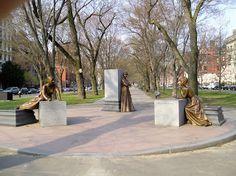 Boston Bronze and Stone Speak To Us: Celebrating Woman's History Month Boston, MA Women...