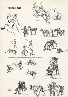 The KING... Heinrich Kley Animal Sketches, Animal Drawings, Cool Drawings, Drawing Sketches, Norman Rockwell, Horse Anatomy, Horse Illustration, Ink Illustrations, Equine Art