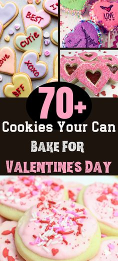 70+ Cookies Your Can Bake For Valentine's Day #cookies #recipes #valentinesday #kids Valentines Day Cookies, Valentines Day Decorations, Valentine Day Crafts, Rainy Day Crafts, Diy Crafts For Kids, Edible Crafts, Valentine's Day Diy, Sewing Patterns Free, Cookie Decorating