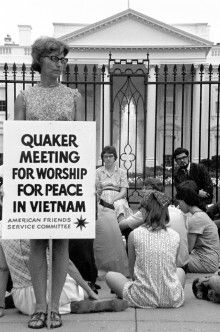 Quaker Meeting for Worship for Peace in Vietnam http://afsc.org/friends/what-makes-quaker-organization-quaker