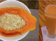 Bevi papaia e avena per dimagrire, pulire le arterie e disintossicare l'intestino Kitchen Recipes, Cooking Recipes, Healthy Recipes, Healthy Foods, Granola, Diabetes, Frappe, Deli, Smoothies
