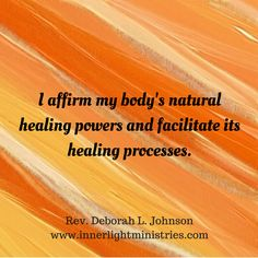 #healing #wellness #health #affirmation #RevDeborahLJohnson