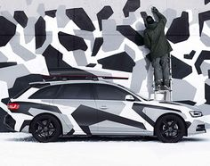 "Audi A4 Avant Quattro - ""Jon Olsson Camo"" Edition 