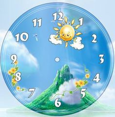image Blank Clock Faces, Disney Clock, Frame Border Design, Decoupage Furniture, Clock Decor, Wooden Clock, Wood Crafts, Clip Art, Drawings