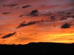 A glorious sunrise, Jan. 2011