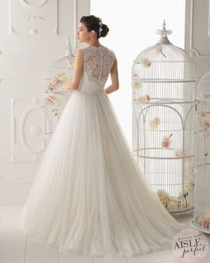 Wedding Dresses: Aire Barcelona 2014 Collection