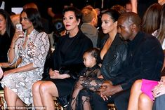 Singer Ciara took her place on the FROW next to Kris Jenner, Kim Kardashian etc while wearing Givenchy at their collection show in Paris